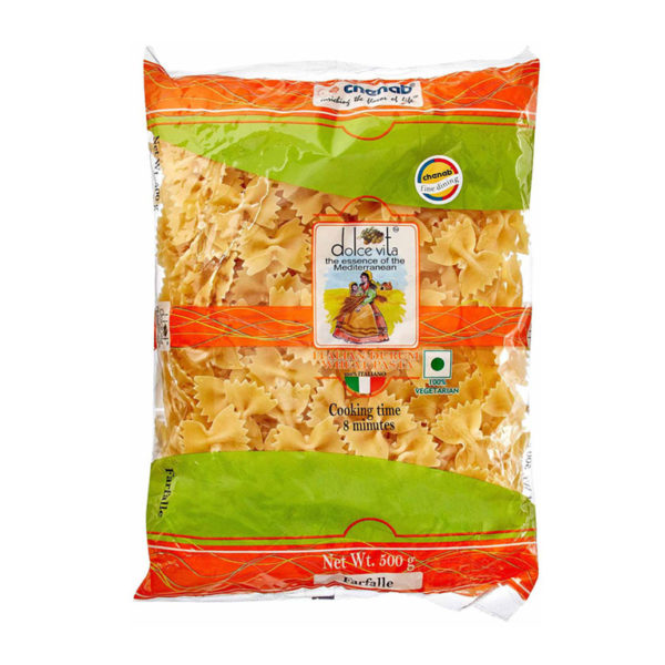 Imported Farfalle Pasta from Italy in India