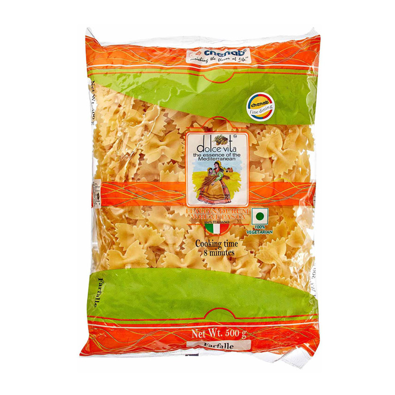 Dolce Vita Farfalle Pasta 500gm from Italy in India