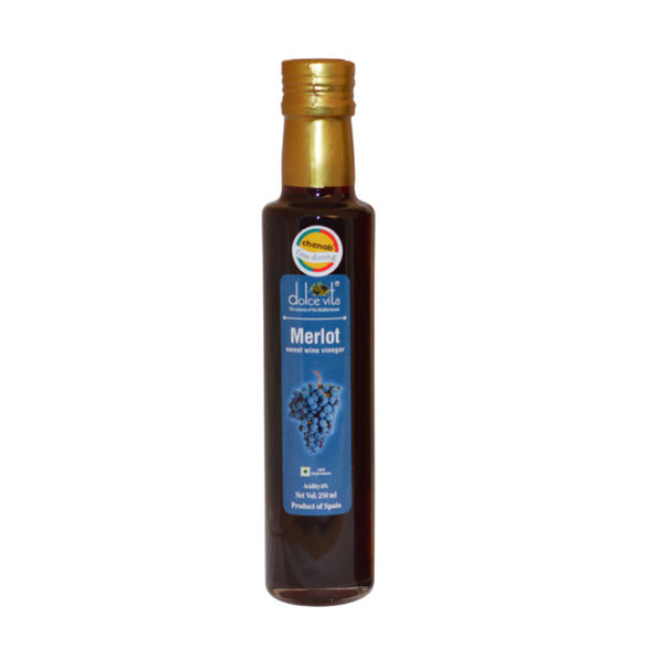 Imported Merlot Sweet Wine Vinegar from Italy in India