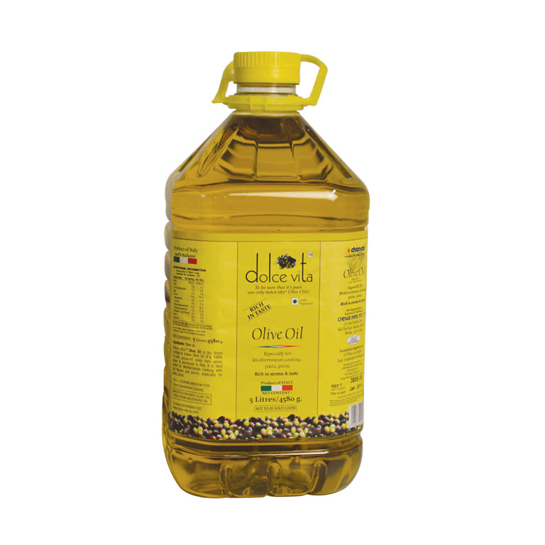 Dolce Vita Italian Pure Olive Oil 5liter from Italy in India