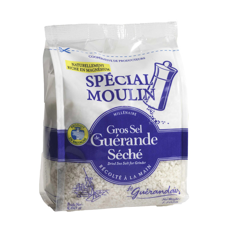 Sel De Guerande Dried Coarse Salt 500gm from France in India