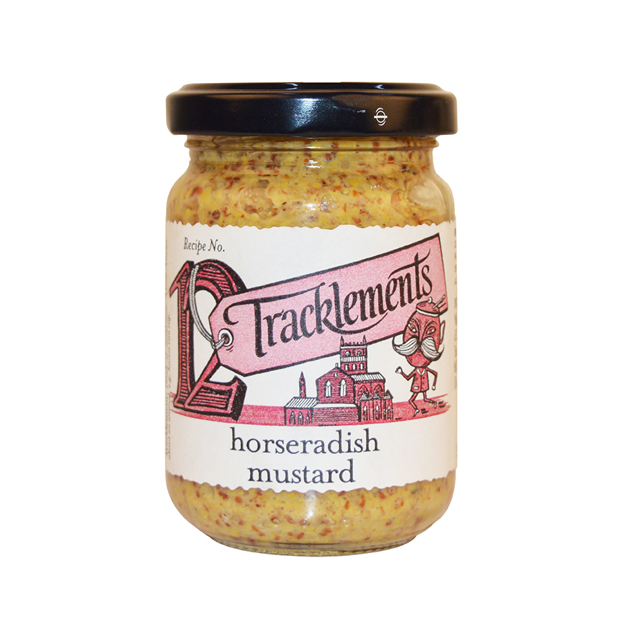 Tracklement English Horseradish Mustard 140gm from France in India