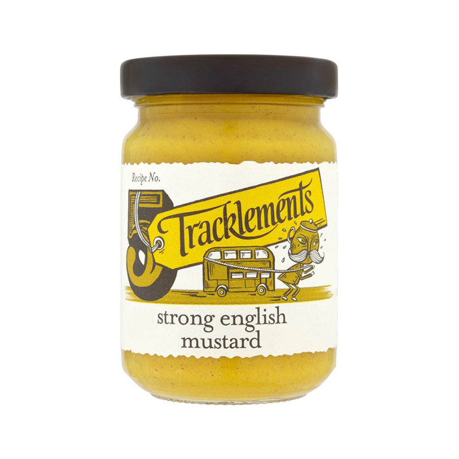 Tracklement Strong English Mustard 140gm from France in India