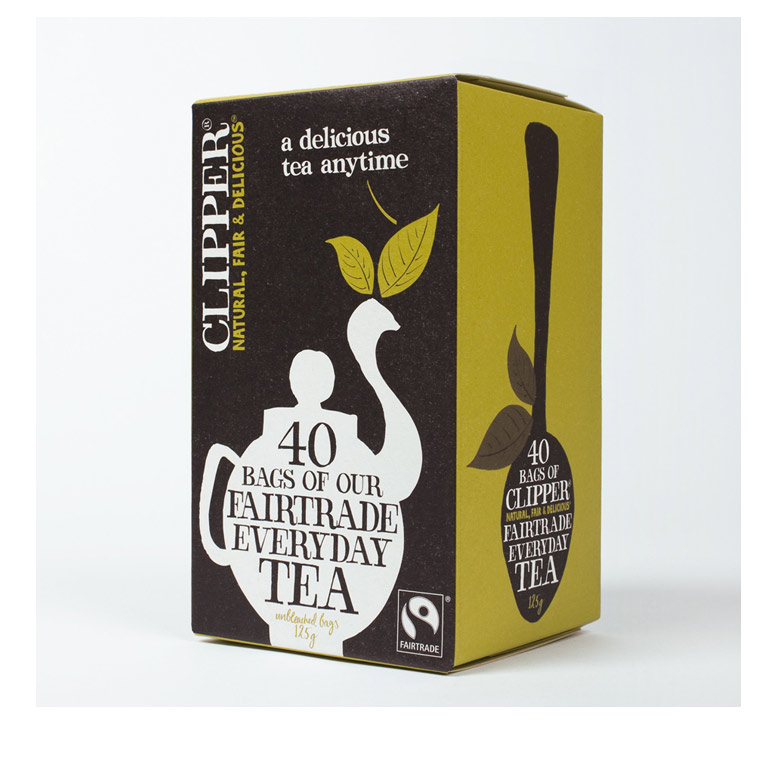 Clipper Fairtrade Tea 62.5 from UK in India