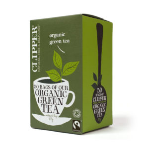 Clipper Organic Green Tea Bags 50gm from UK in India