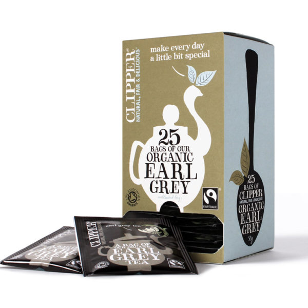 Imported Organic Earl Grey Tea Bags from UK in India
