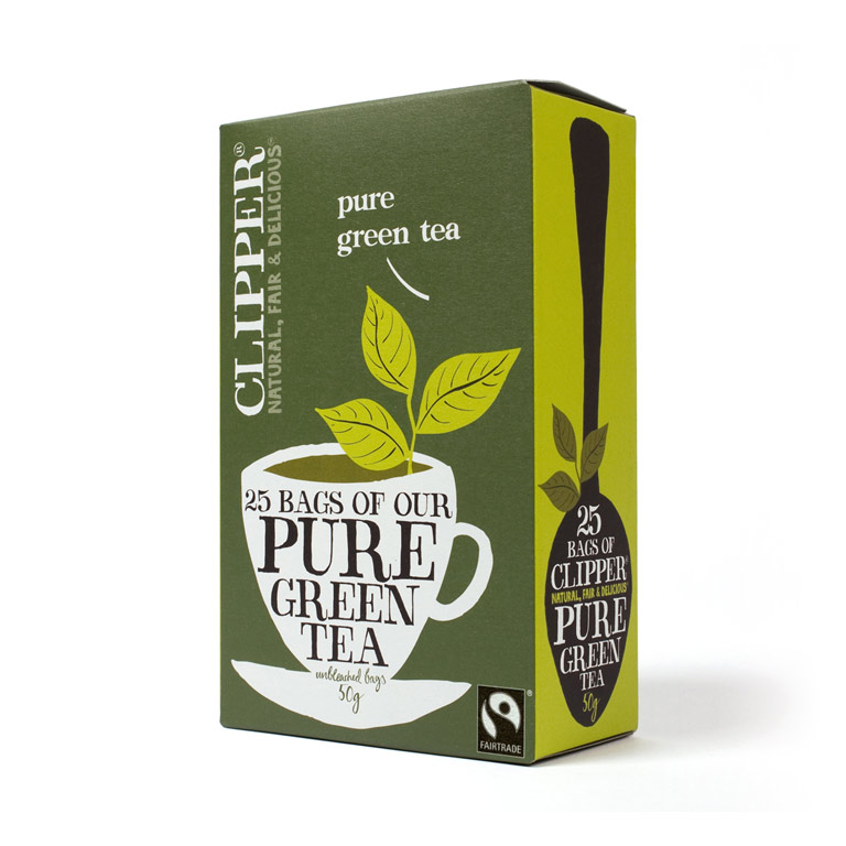 Clipper Pure Green Tea 50gm from UK in India