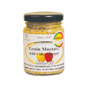 Delouis French Cider Vinegar Grain Mustard 200gm from France in India