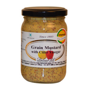 Delouis French Grain Mustard with Cider Vinegar 100gm from France in India