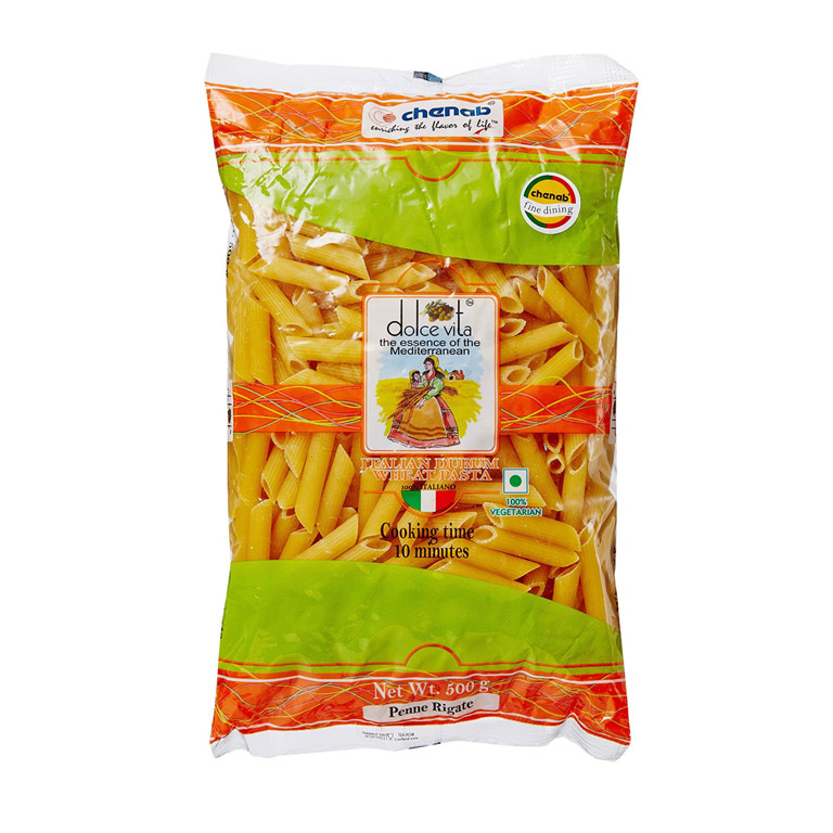 Dolce Vita Penne Rigate Pasta 500gm from Italy in India