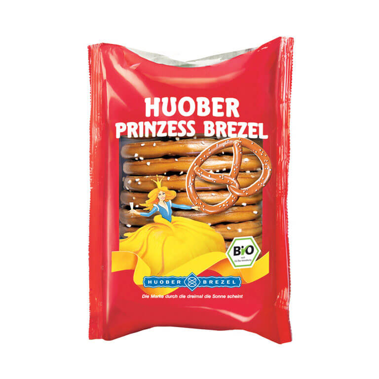 Huober Organic Pretzel Snack 125gm from Spain in India