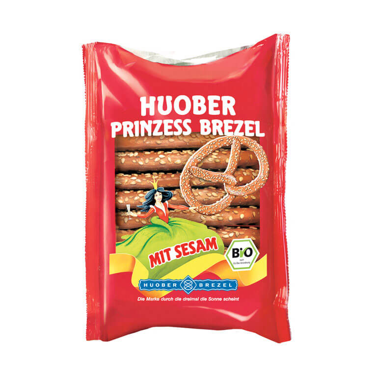 Huober Organic Princess Pretzel 125gm from Spain in India