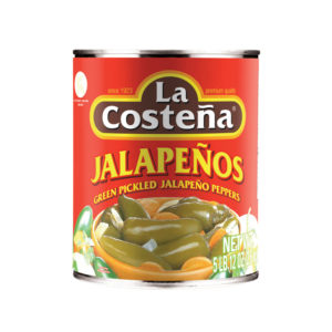 La Costena Green Jalapeno Pepper 2.6kg from Mexico in India