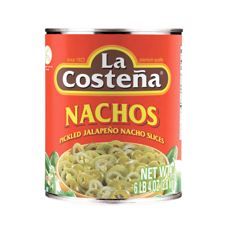 La Costena Pickled Jalapeno Nacho Slices 2.8kg from Mexico in India