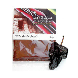 Mexican Ancho Chili Pepper Powder 84g – Los Chileros