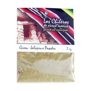 Mexican Green Jalapeno Powder 56g – Los Chilleros