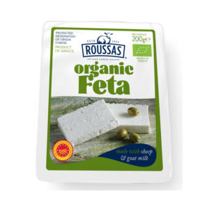 Roussas Organic Feta Cheese 200gm from Greece in India