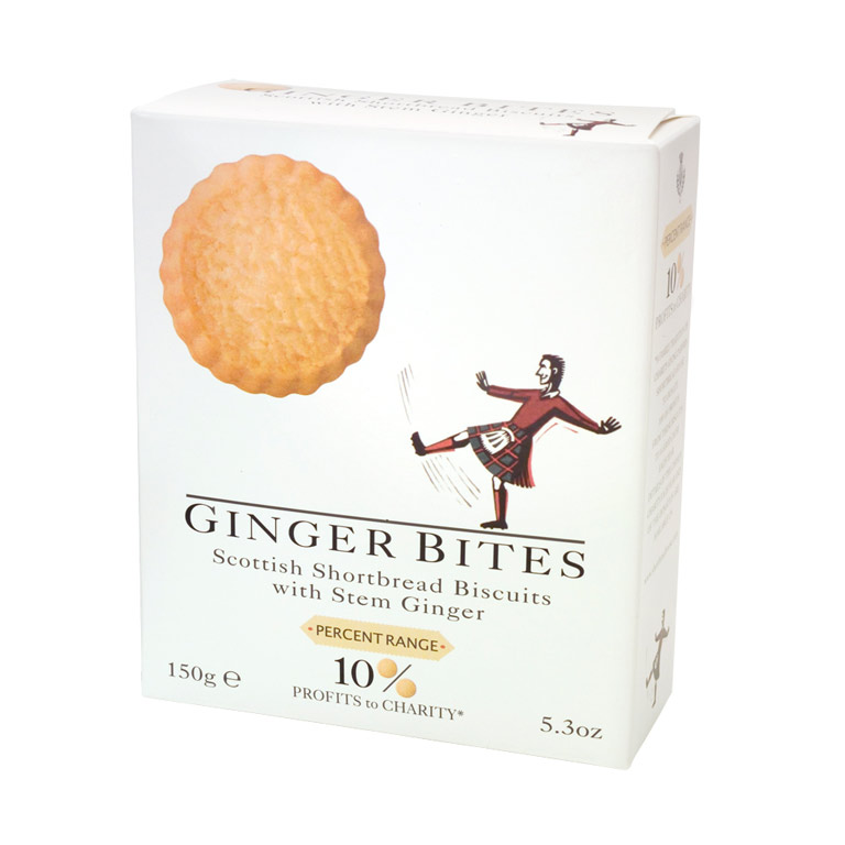 Shortbread Ginger Biscuits 150g from UK in India