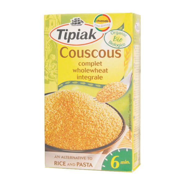 Organic Whole Wheat Couscous 400g – Tipiak