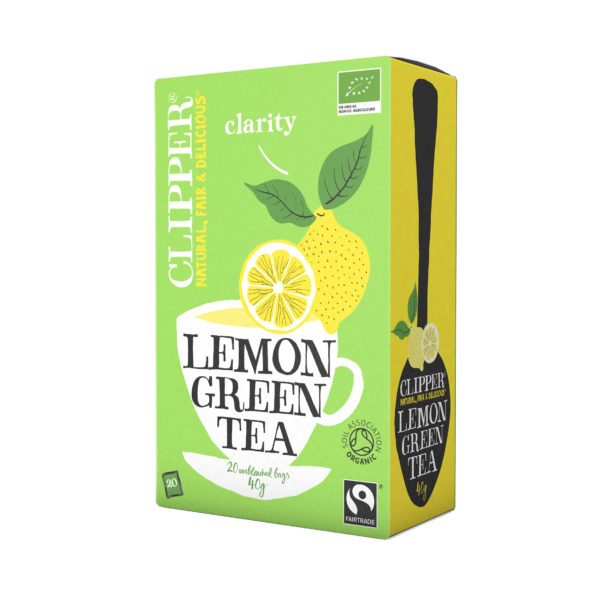 Imported Green Tea with Lemon Unbleached Bag from UK in India