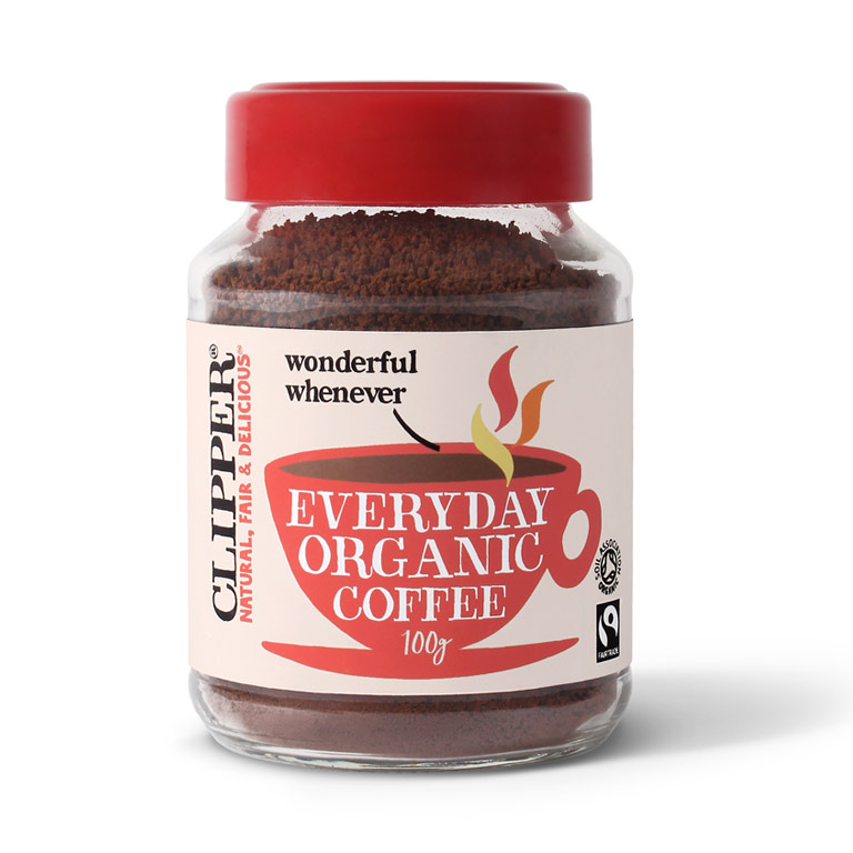 Clipper Organic Instant Coffee 100gm from UK in India