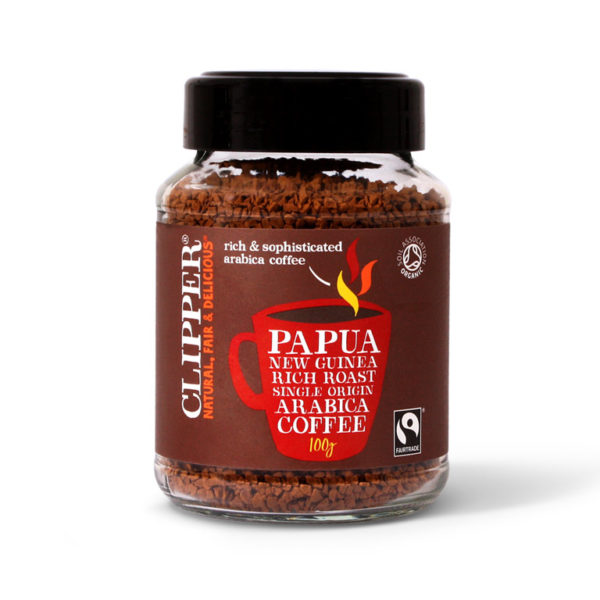Imported Papua New Guinea Instant Coffee  from UK in India