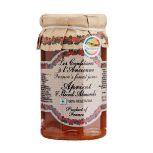 Confitures French Apricot & Sliced Almonds Jam 270g from France in India