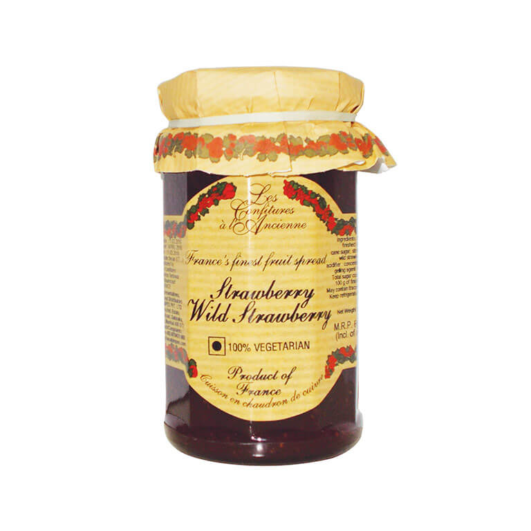 Wild Strawberry Jam 270g – Confitures