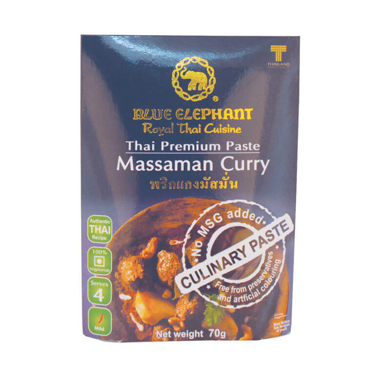 Thai Gluten Free Massaman Curry Paste 70g – Blue Elephant