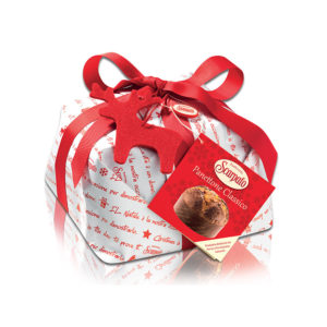 """SCARPATO PANETTONE WITH RAISINS AND CANDIED FRUIT """"WHITE CHRISTMAS 500g""""10120"""