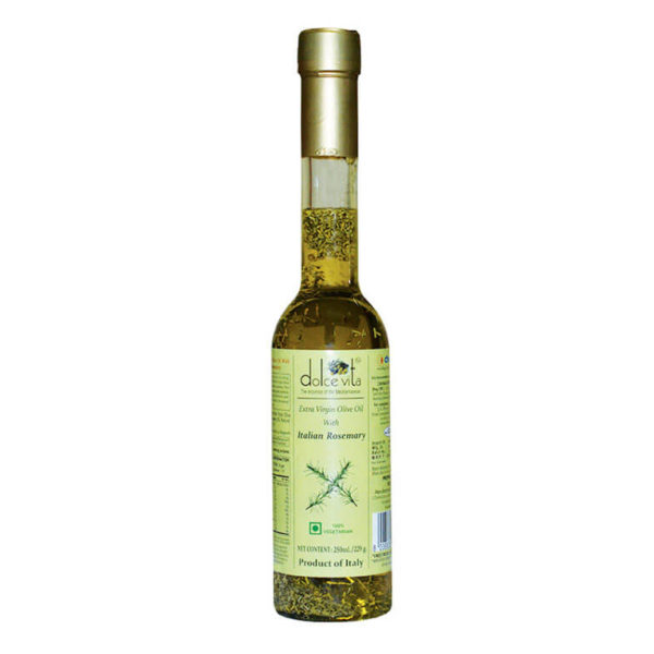Imported Extra virgin olive oil Rosemary flavored 250ml buy online at theshopofgoodtaste.com - The Shop of Good Taste - The Shop of Imported & Premium Gourmet Food