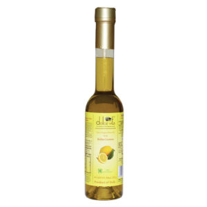dolce vita Extra virgin olive oil Lemon flavored 250ml from Italy in India