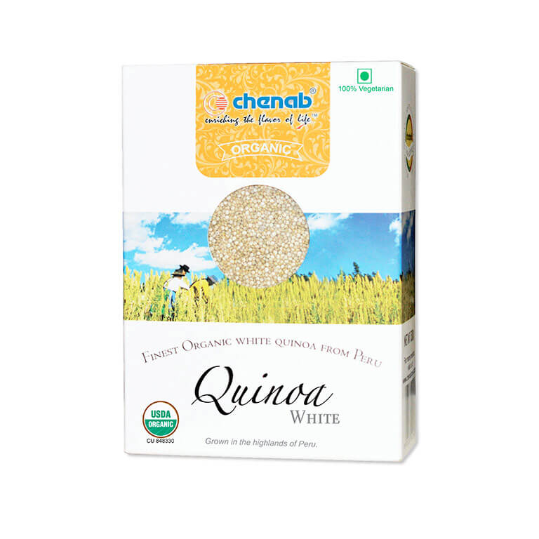 Imported Organic White Quinoa from Peru in India