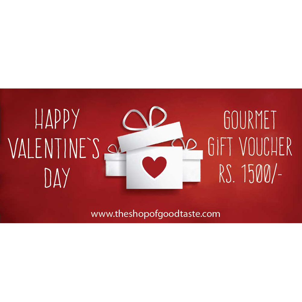 Valentines day Gift voucher Rs. 1500