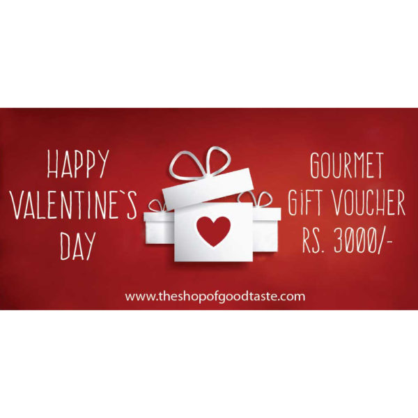 Valentines day Gift voucher Rs. 3000