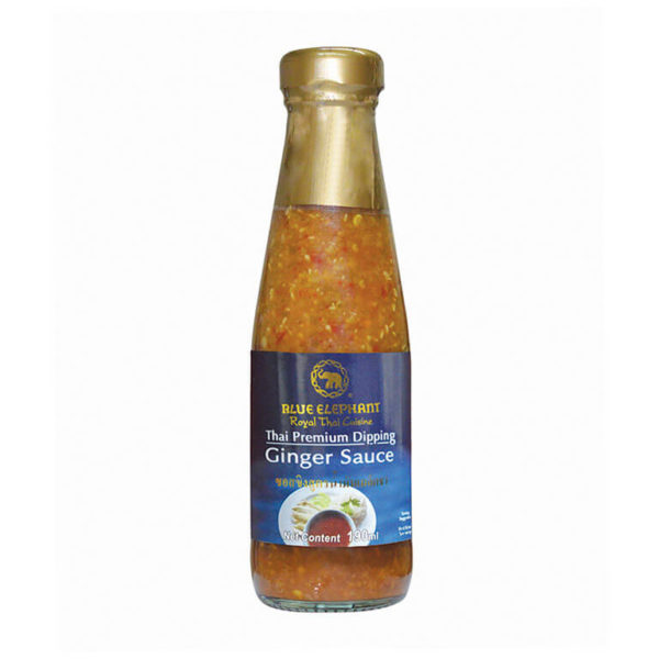 Thai Ginger Sauce 190ml – Blue Elephant
