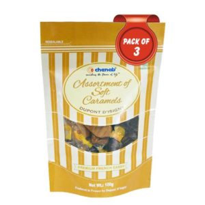 Chenab Assorted Soft Caramels, 100g