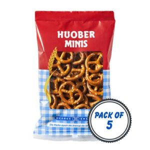 Huober Organic Mini Pretzel, 40g (Pack of 5)